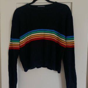 Brandy Melville Rainbow Sweater